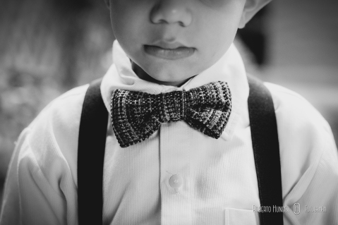 gravata para pajen de casamento