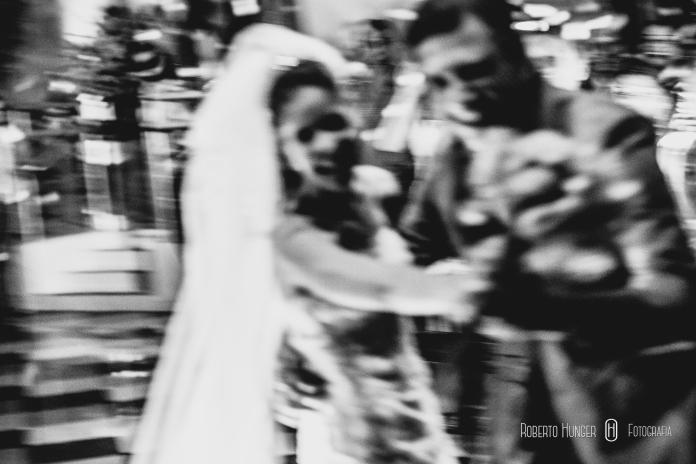 fotos criativas de casamento em preto e branco