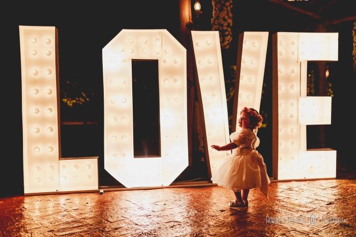 casamento love, wedding love, letreiro gigante em casamento